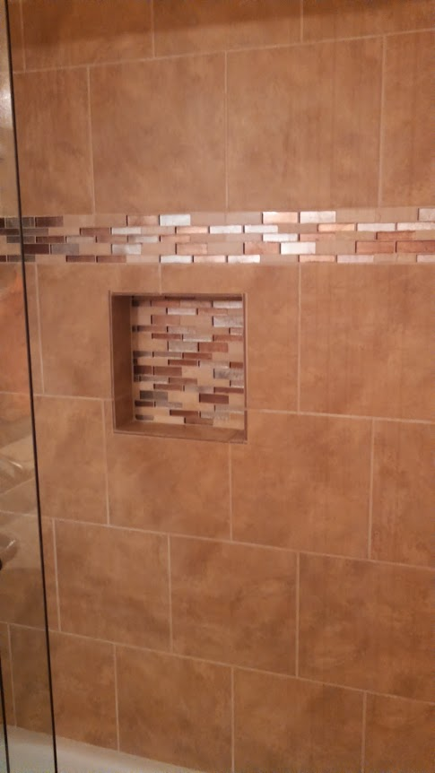 Decorative Tile Shampoo Cut Out